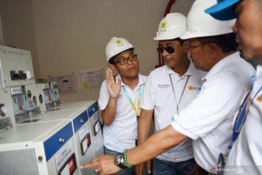 Kabel laut circuit II Tanjung Pasir-Pulau Untung Jawa diresmikan