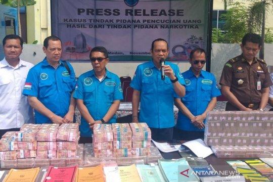 Deputi BNN: TPPU kejahatan narkoba melibatkan jaringan internasional