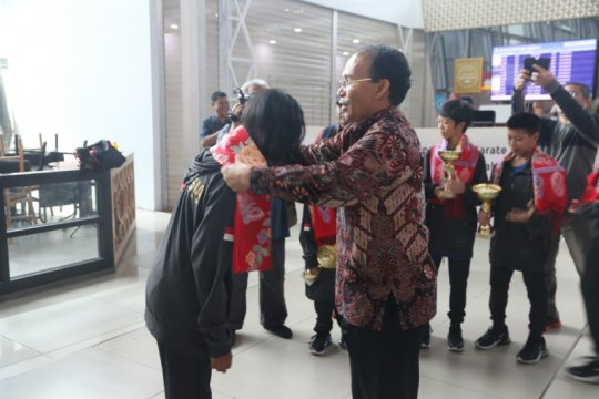 Tim karate Indonesia raih lima medali di kejuaraan internasional
