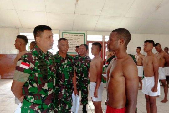 104 putra pegunungan tengah Papua lulus selseksi pertama Tamtama