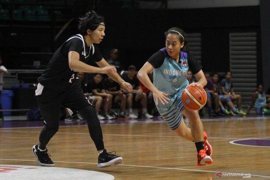 Pertandingan persahabatan timnas basket Indonesia - Taiwan