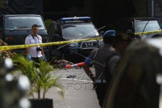 Bom bunuh diri, Polisi sterilisasi Polrestabes Medan