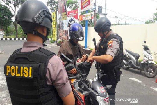Pengamanan Mapolres Temanggung ditingkatkan