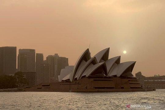 Asap kebakaran lahan selimuti kota Sydney