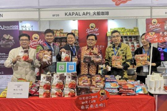 Industri makanan dan minuman Indonesia tampil di Tiongkok