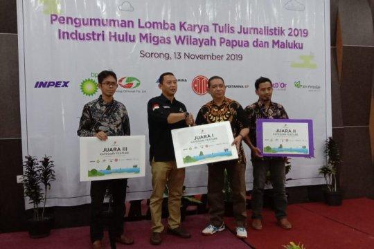 SKK Migas-KKKS Pamalu umumkan pemenang karya tulis jurnalistik terbaik 2019