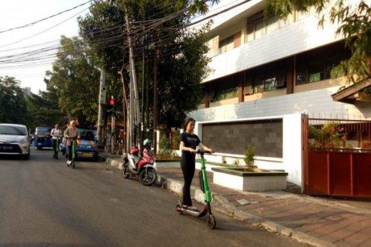 BPTJ sarankan GrabWheels beroperasi di trotoar