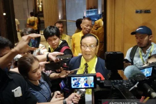 Dorongan aklamasi, Akbar Tanjung: Serahkan mekanisme Munas Golkar