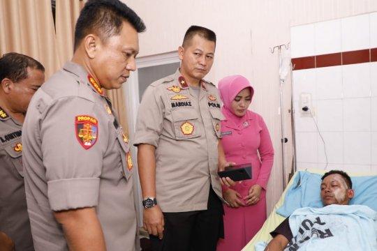 Wakapolda Sumut jeguk anggota Polri korban bom Medan