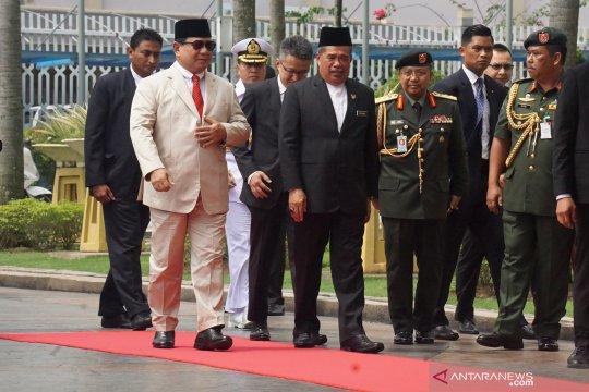 Menhan Prabowo ke Malaysia