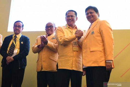 Kosgoro: Airlangga dan Bamsoet bisa seperti Soekarno-Hatta