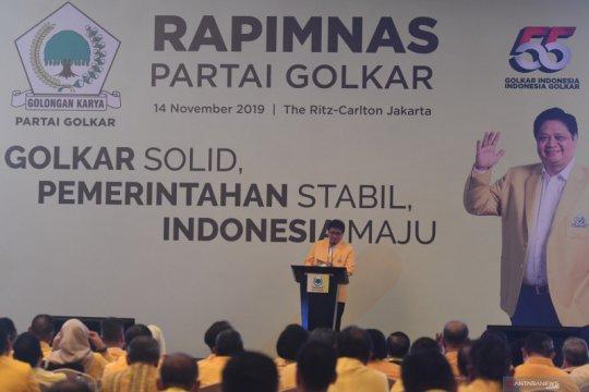 Airlangga ajak kader kerja keras sukseskan program Jokowi