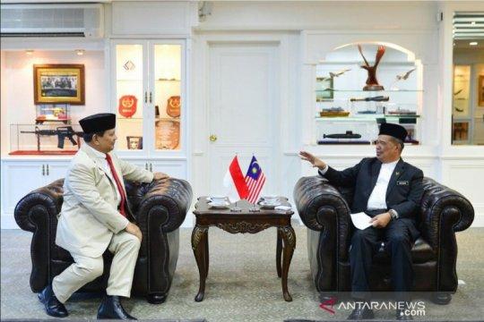 Menhan optimistis kerja sama Indonesia-Malaysia semakin baik