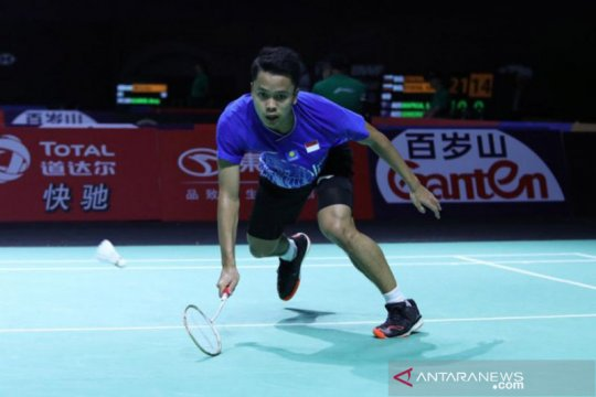 Anthony rebut tiket final dari Chen Long