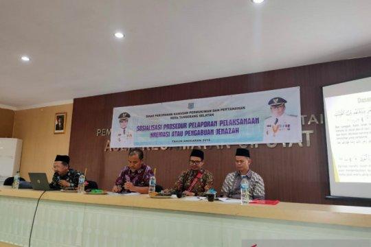 Disperkimta Tangsel sosialisasi kremasi di tujuh kecamatan