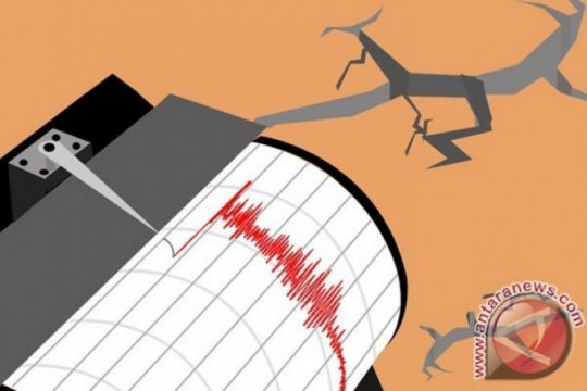 Gempa magnitudo 7,4 guncang barat laut Jailolo-Malut