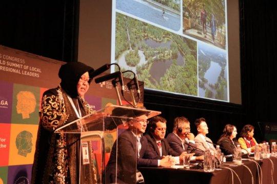 Risma bicara pengembangan kota berbasis ekologi di Forum UCLG World