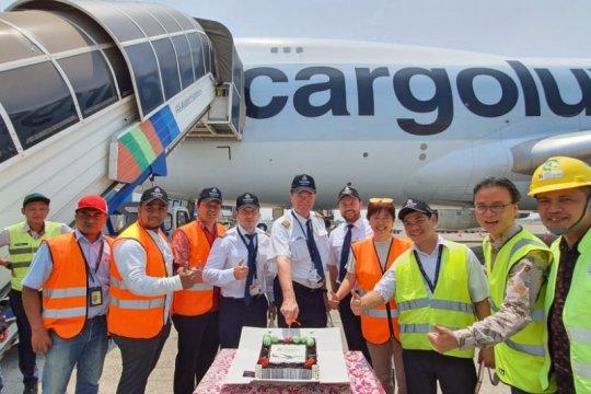 Cargolux tingkatkan frekuensi penerbangan ke Indonesia