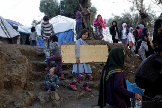Di Yunani, 20 pencari suaka di kamp pengungsi positif corona
