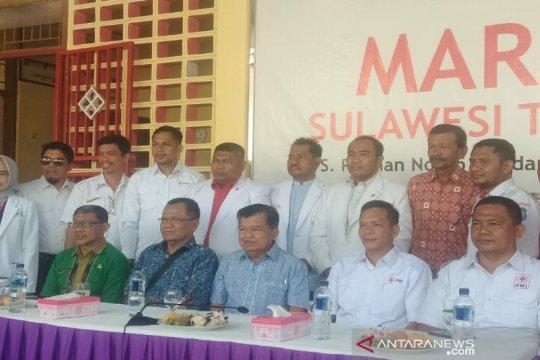 PMI Sultra mendapat bantuan dari Jusuf Kalla Rp5 miliar