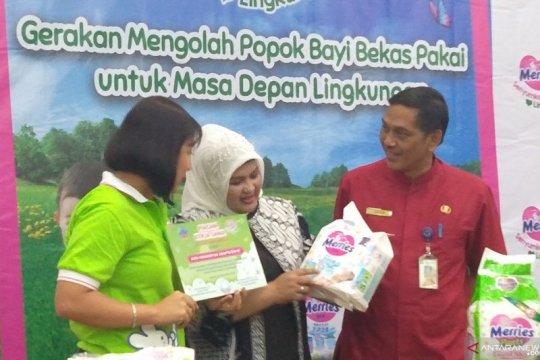 Popok bekas pakai di Jakarta Barat akan didaur ulang