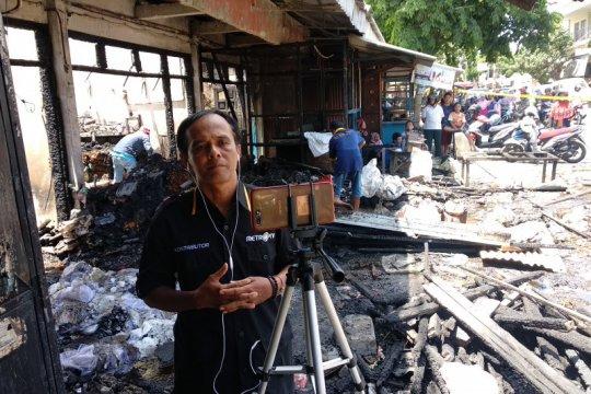 Pedagang korban kebakaran Pasar Ngunut Tulungagung akan terima bantuan