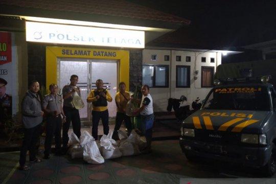 Polisi sita 11 kantong minuman keras Cap Tikus di Gorontalo