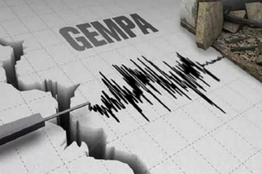 Gempa magnitudo 6,6 SR terasa hingga Gorontalo Utara