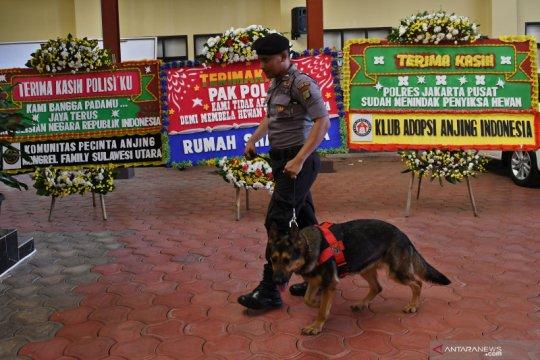 Apresiasi bagi polisi yang berhasil ungkap kasus penyiksaan anjing
