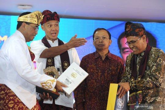 Ganjar Pranowo kembali terpilih sebagai Ketua Umum Kagama