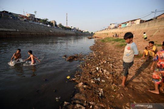 Pendangkalan sungai Ciliwung