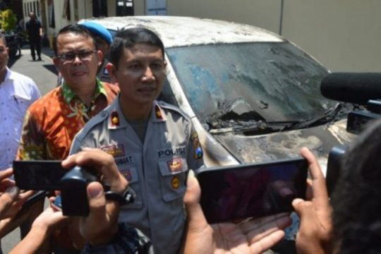 Polres Madiun Kota tangkap pelaku pembakaran mobil