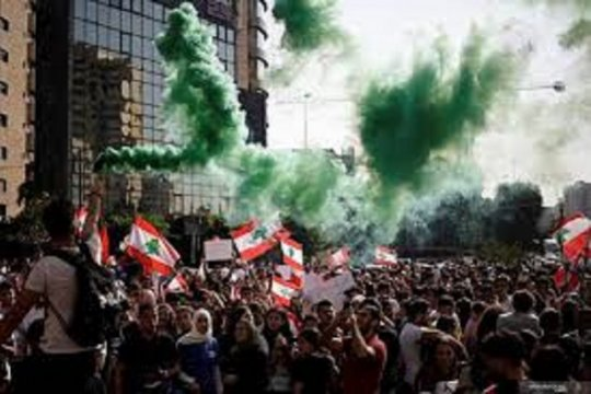 NNA: Bentrokan-tembakan di Lebanon pada malam kedua kerusuhan