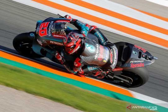 Fabio Quartararo raih pole position MotoGP Valencia 2019