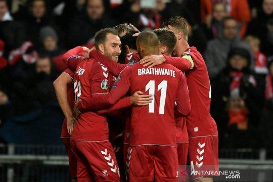 Lumat Gibraltar 6-0, Denmark puncaki Grup D