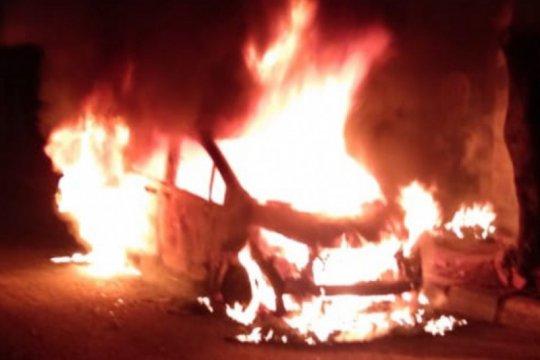 Ini pemicu mobil Freed terbakar di dekat Mapolsek Jatinegara