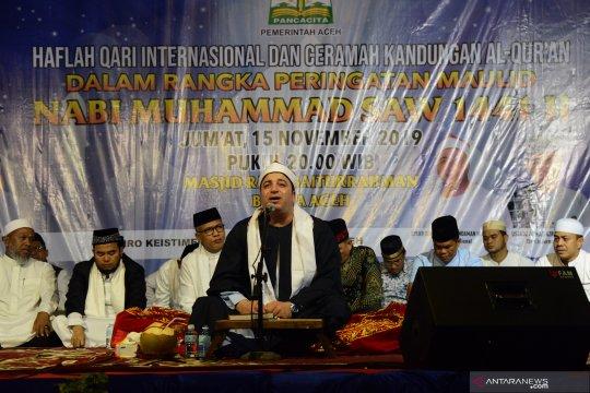 Maulid Nabi hadirkan qari internasional