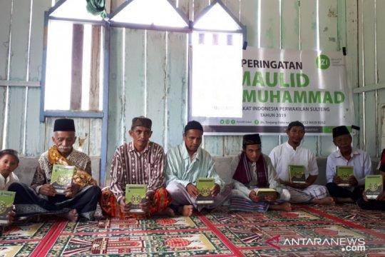 Mengajak warga pedalaman Sigi meneladani kehidupan Nabi Muhammad SAW