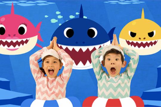 """Pencipta """"Baby Shark"""" incar pasar China, kali ini lewat dinosaurus"""