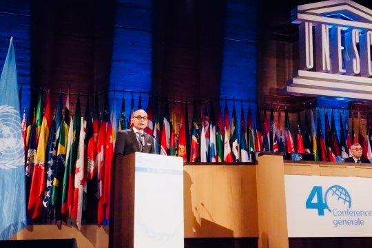Dubes Indonesia sampaikan Pernyataan Nasional di UNESCO