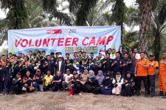 """MRI-ACT Aceh tingkatkan kemampuan relawan melalui """"volunteer camp"""""""