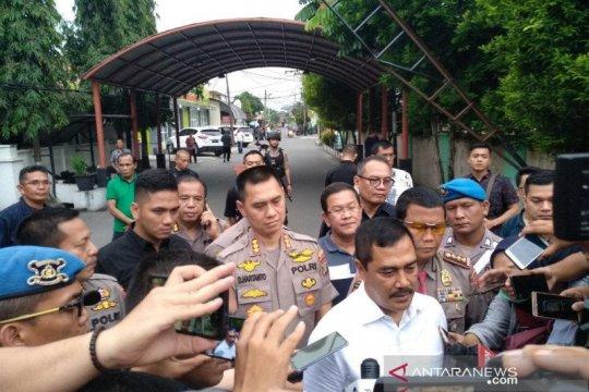 Densus 88 amankan dua orang terduga teroris di Medan