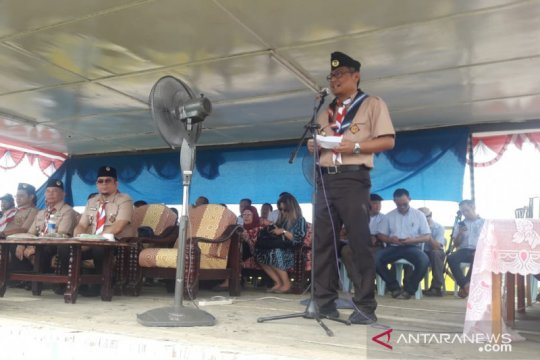 KJRI Kuching: Kwarnas perhatikan juga kepramukaan di Sarawak