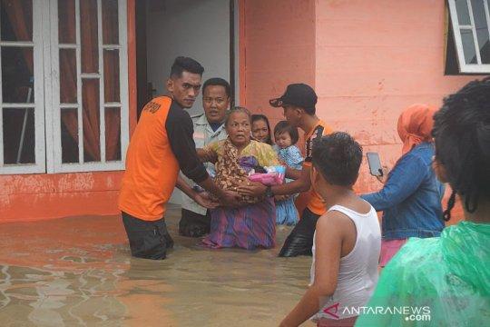 Banjir di Langsa, 411 keluarga jadi korban