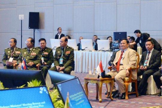 Menhan sampaikan komitmen Indonesia wujudkan Asia Tenggara yang damai