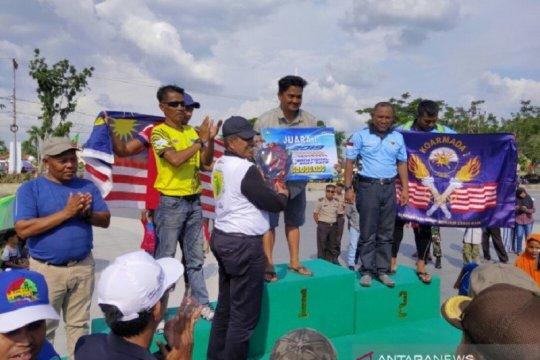 Podsi Kota Bekasi juara Siak International Serindit Boat Race