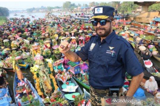 Banjar siap promosikan Pasar Terapung  Lok Baintan jadi wisata dunia