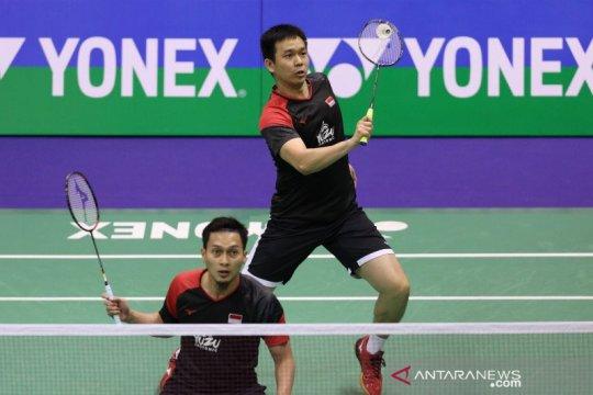 Hendra/Ahsan gagal rebut gelar juara Hong Kong Open