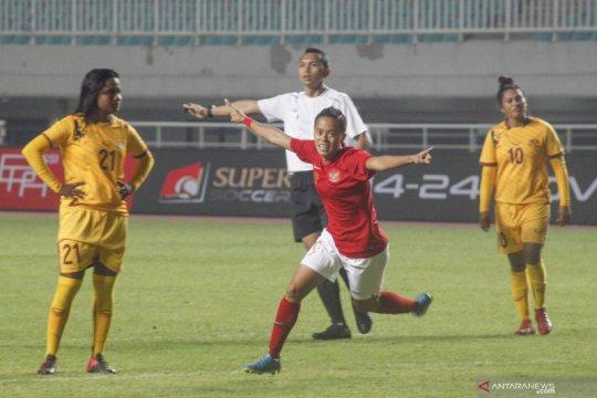 Timnas putri percaya diri tatap SEA Games usai taklukkan Sri Lanka