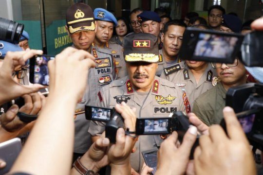 Kapolda Sumut: Seorang anggota Densus 88 terluka menjalani operasi